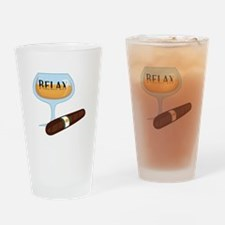 Relax Drinking Glass