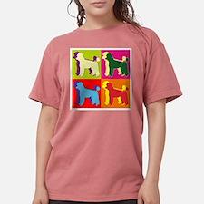Poodle Silhouette Pop Ar T-Shirt