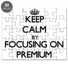 Keep Calm by focusing on Premium Puzzle