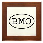 BMO Oval Framed Tile