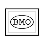 BMO Oval Framed Panel Print