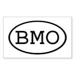 BMO Oval Rectangle Sticker