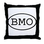 BMO Oval Throw Pillow