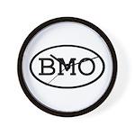BMO Oval Wall Clock