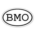 BMO Oval Oval Sticker