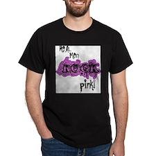 Lil pink crush real men rock pink T-Shirt