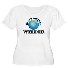 World's Hottest Welder Plus Size T-Shirt