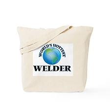 World's Hottest Welder Tote Bag