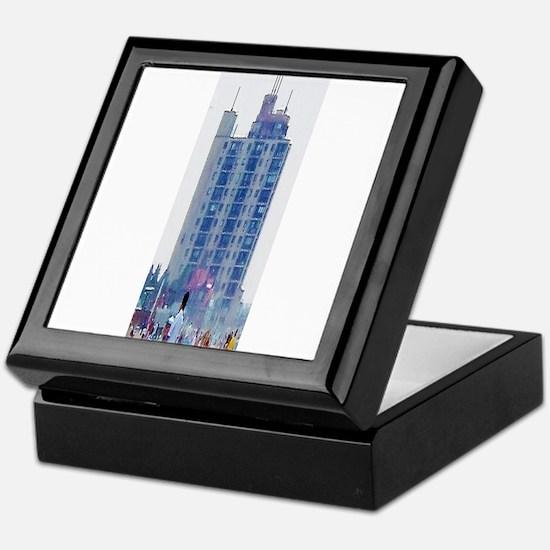 Extra Long Dreamy Building Keepsake Box