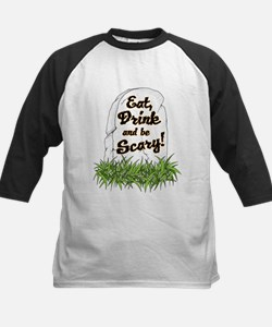 eat drink and be scary Baseball Jersey