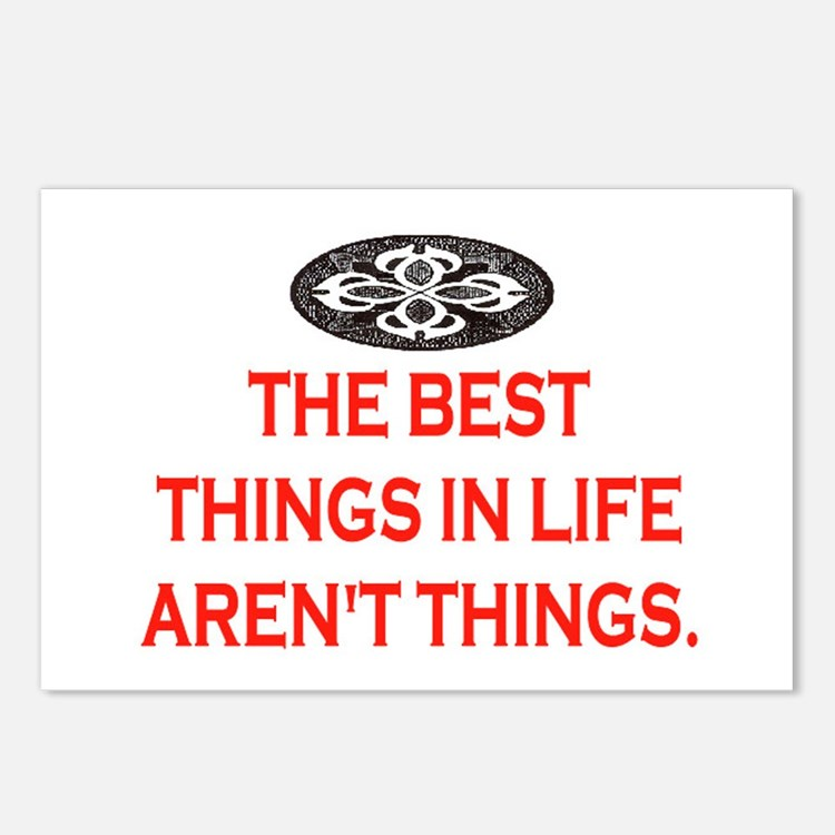 BEST THINGS IN LIFE Postcards (Package of 8)