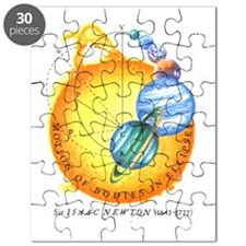 Sir Isaac Newton Science Puzzle