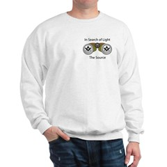 The source of the Search for Light Sweatshirt