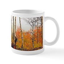 Misty Autumn Aspen 2 Mug