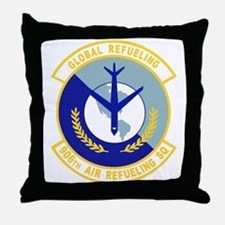 906_air_refueling_sq.png Throw Pillow
