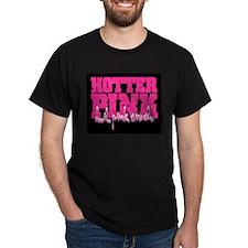 Lil Pink Crush Hotter Pink Women's V-Neck T-Shirt