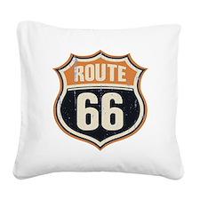 Route 66 -1214 Square Canvas Pillow