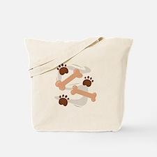Dog Bones Tote Bag