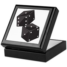 Two Dice Keepsake Box