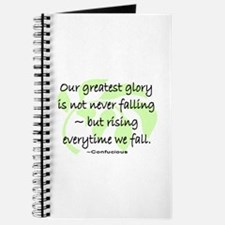 OUR GREATEST GLORY Journal