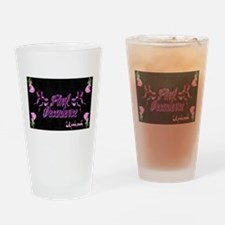 Lil pink crush decadence2.jpg Drinking Glass