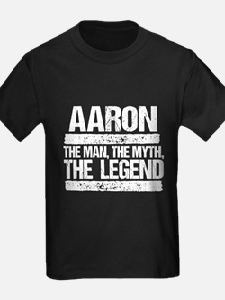 Aaron, The Man, The Myth, The Legend T-Shirt