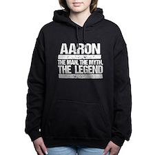 Aaron, The Man, The Myth, The Legend Women's Hoode