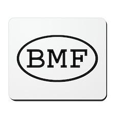 BMF Oval Mousepad