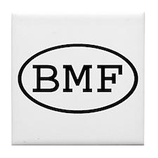 BMF Oval Tile Coaster