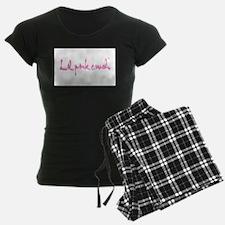 Lil pink crush logo.jpg Pajamas