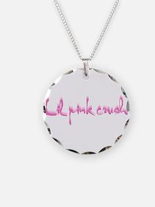 Lil pink crush logo.jpg Necklace