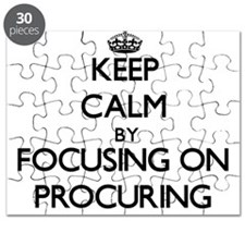 Keep Calm by focusing on Procuring Puzzle