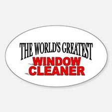 """""""The World's Greatest Window Cleaner"""" Decal"""