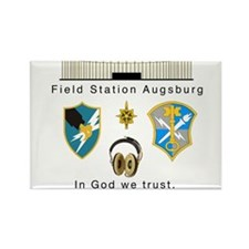 Cute Field station augsburg Rectangle Magnet