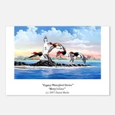 """Betty's Cove"" Custom Postcards (Package o"