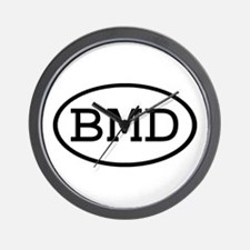BMD Oval Wall Clock