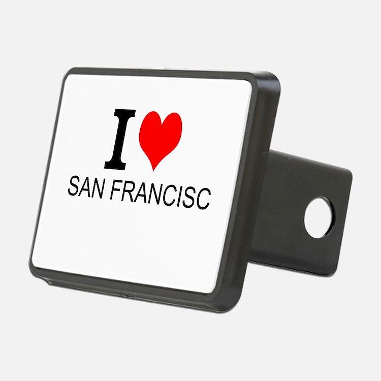 I Love San Francisco Hitch Cover