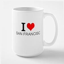 I Love San Francisco Mugs