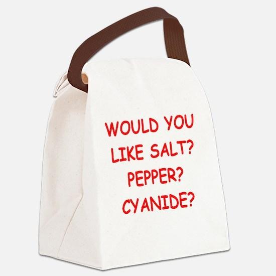 Unique Hate you Canvas Lunch Bag