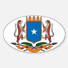 Somalia Coat of Arms Oval Bumper Stickers
