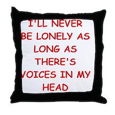 Cute The voice Throw Pillow