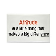 Attitude Rectangle Magnet (10 pack)
