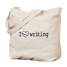 Heart writing notebook/2 Tote Bag