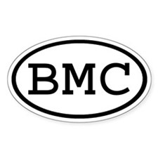 BMC Oval Oval Decal