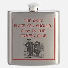 Funny Comedy club Flask