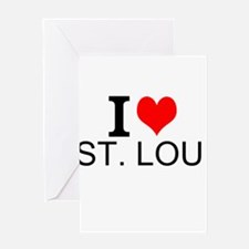 I Love St. Louis Greeting Cards