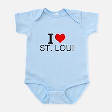 I Love St. Louis Body Suit