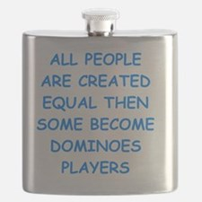 Cute Dominoes Flask