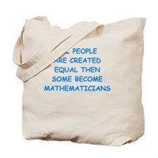 Unique Math majors Tote Bag