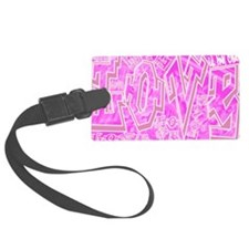 Graffiti Scramble.jpg Luggage Tag